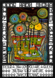 Arche Noah Poster von Friedensreich Hundertwasser