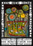 Noahs ark Posters av Friedensreich Hundertwasser