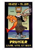 Prunier Reproduction procédé giclée par Falize