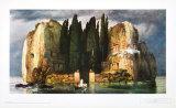 La isla de los muertos Lámina coleccionable por Arnold Bocklin