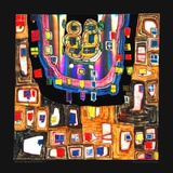 Birth of a Car, 1987 Prints by Friedensreich Hundertwasser