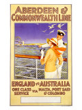 Aberdeen and Commonwealth Line Giclee Print by Longmate