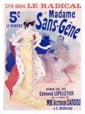 Madame Sans Gene Giclee Print by Jules Chéret