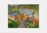 La palmera Lámina por Pierre Bonnard