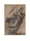 Figure of an Angel Samlertryk af Fra Bartolomeo