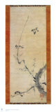 Sparrows and Plum Tree Reproduction pour collectionneur par Kaoo Soozen
