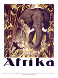 Afrika Giclee Print by Otto Baumberger