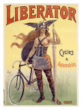 Liberator Cycles and Automobiles Giclee Print by  PAL (Jean de Paleologue)