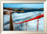 Golden Gate Bridge, San Francisco Print by Roger Ressmeyer
