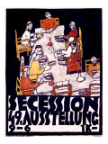 Secession, 49 Asstellung Giclee Print by Egon Schiele