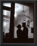 Menilmontant, Paris Affiches par Willy Ronis