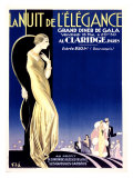 Nuit Elegance Giclee Print by Emilio Vila
