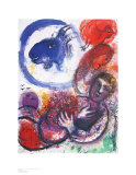 The Blue Goat Prints by Marc Chagall