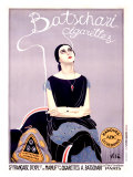 Batschari Cigarettes Giclee Print by Emilio Vila