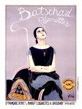Batschari Cigarettes Giclee Print by Emilio Vila