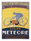Bicicletas Meteor Lámina giclée por Georges Faivre