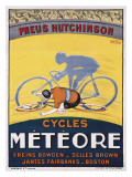 Cycles Meteore Giclee Print by Georges Faivre