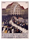 Seiden-Grieder, Zurich Giclee Print by Burkhard Mangold