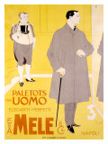 E&A Mele, Paletots Per Uomo Giclee Print by Franz Laskoff