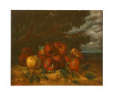 Still Life with Apples Collectable Print by Gustave Courbet