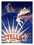Petrole Stella Giclee Print by Henri Gray