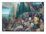 The Conversion of St.Paulus Collectable Print by Pieter Bruegel the Elder