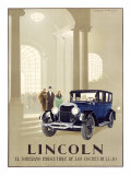 Lincoln Automobile Reproduction procédé giclée