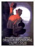 Expo Internationle Milan, 1906 Giclée-Druck von Leopoldo Metlicovitz
