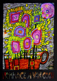 Hommage a Van Gogh, c.2000 Prints by Friedensreich Hundertwasser