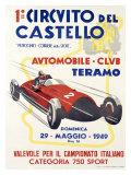 Circuito del Castello Giclee Print