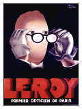 Leroy Opticien, c.1938 Giclee Print by Paul Colin