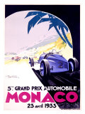 Monaco, 1933 Gicleetryck av Geo Ham