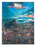 Die Alexanderschlacht Lámina por Albrecht Altdorfer