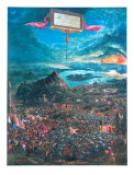The Battle of Alexander Poster by Albrecht Altdorfer
