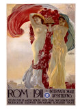 Rome, 1911 Giclee Print by Francesco Terzi