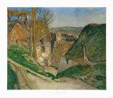 La Maison du Pendu Collectable Print by Paul Cézanne