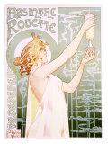 Absenta Robette Lámina giclée por Privat Livemont