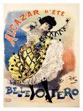 La Bella Otero, Alcazar d'Ete Giclee Print by  PAL (Jean de Paleologue)