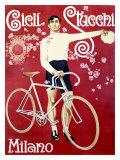 Cicli Stucchi Milano Giclee Print by E. Malerba