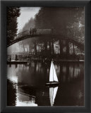 Canal Saint-Martin, 1984 Affiches par Peter Turnley