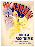 Cheret Vin Mariani Tonic Giclee Print by Jules Ch&#233;ret