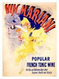 Cheret Vin Mariani Tonic Giclee Print by Jules Chéret