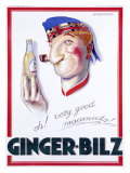 Ginger-Bilz Giclee Print by Achille Luciano Mauzan