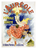 L'Aureole Giclee Print by Jules Chéret