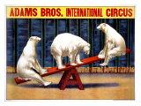 Adams Brothers Circus Giclee Print