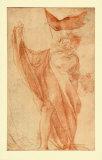 Apostel-Figure Samlertryk af Antonio Allegri Da Correggio