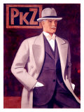 PKZ, Mens' Fashion Giclee Print by Johann Arnhold