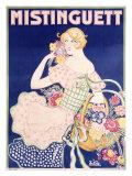 Mistinguett Giclee Print by  Zig (Louis Gaudin)