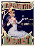 Absinthe Vichet Giclee Print by Nover 