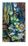Yellow Roses Samlertryk af Max Beckmann